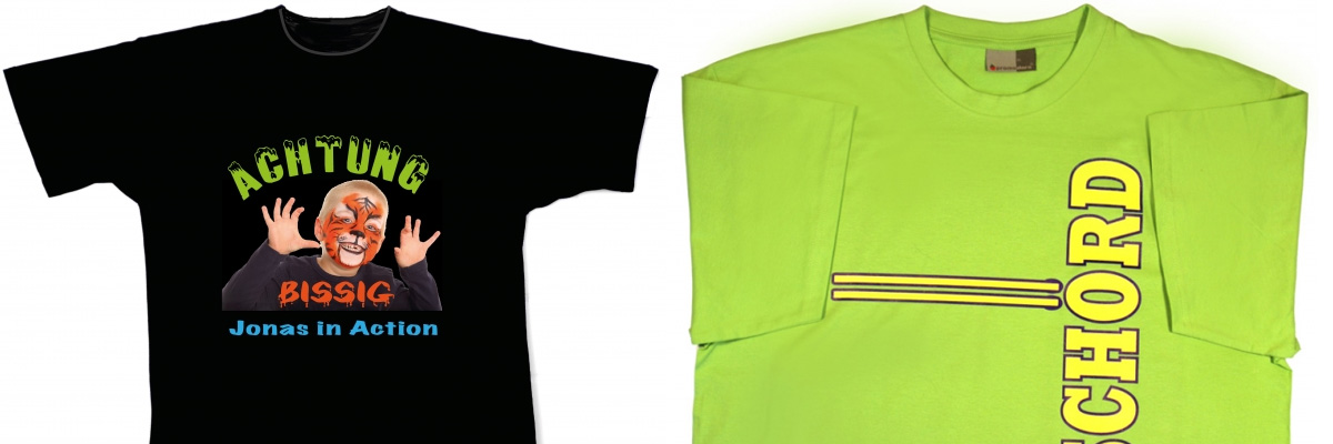 Textildruck / T-Shirt Druck im Raum Kiel - MecklenburgDruck GmbH